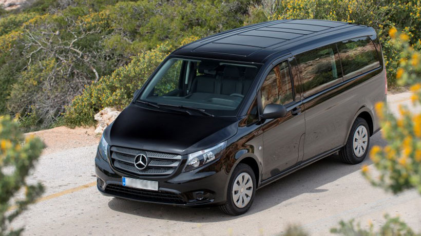 Transfer Me taxi Kalamata Messinia Mercedes Vito Tourer