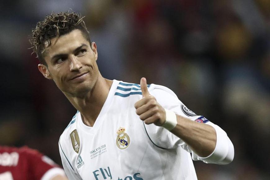 Cristiano Ronaldo in Greece