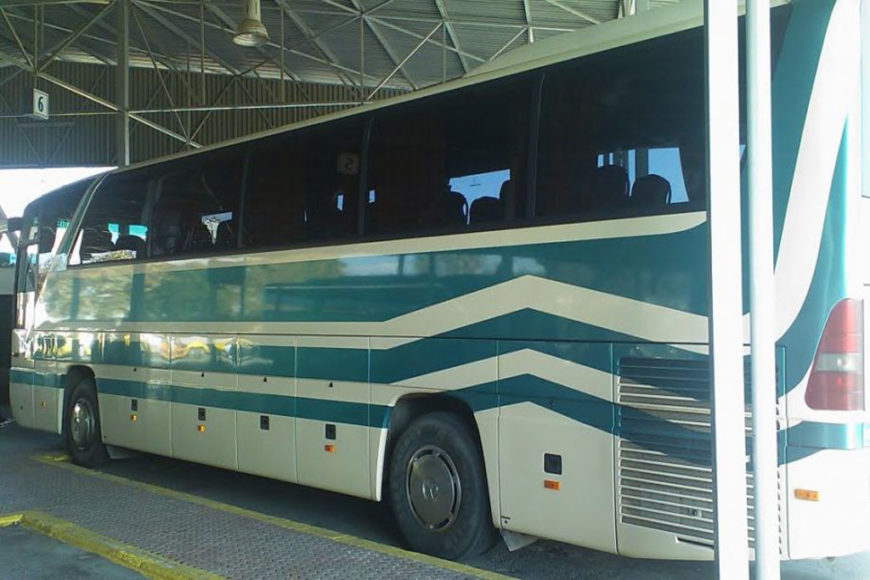 bus station of Kalamata